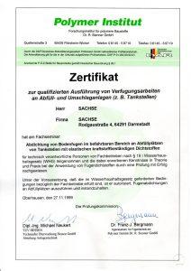 Zertifikat-Verfugung
